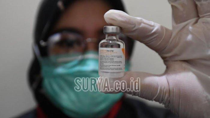 Vaksinasi Tahap 1 dan 2 di Kabupaten Tuban Sasar 51.333 Orang, Baru 33.390 Dosis yang Diberikan