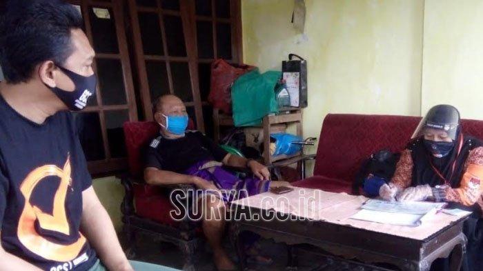 Petugas Coklit KPU Kota Blitar Belum Bisa Masuk Lingkungan Zona Merah Covid-19