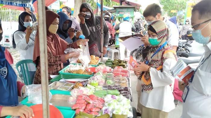 Tujuan Pengawas Obat dan Makanan dan Dinkes Kota Kediri Uji Sampling Menu Takjil
