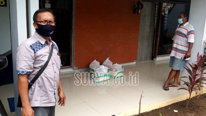 Bantuan Paket Sembako untuk Warga yang Isolasi Mandiri di Kota Kediri Kembali Dibagikan