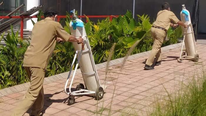 Menfaatkan Udara untuk Oksigen Medis, Pemkot Surabaya Siagakan 100 Oksigen Konsentrator di RSLT
