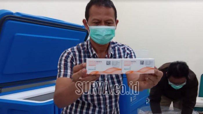 16.400 Vaksin Tahap Dua Tiba di Kabupaten Tulungagung, Mulai Didistribusikan Hari Ini