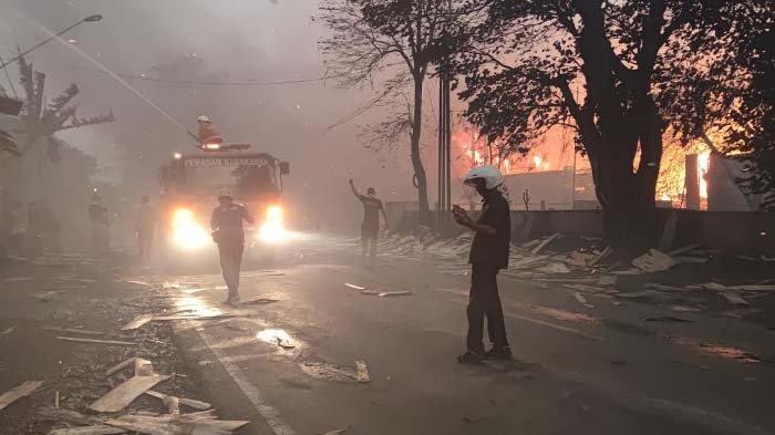 Cekcok Suami Istri, Bikin Menderita Warga Sekampung, 38 Rumah Terbakar di Palangkaraya