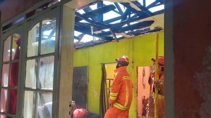 Gara-gara Tungku masih Menyala, Rumah Milik Sukoco di Kota Batu Terbakar