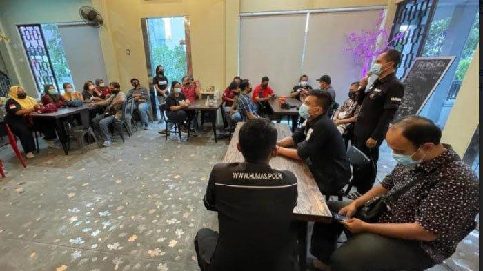 Upaya Sosialisasi Larangan Mudik, Polisi Sidoarjo Gandeng Pegiat Medsos
