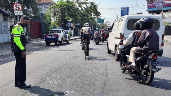 Pengayuh Sepeda di Sidoarjo Meninggal Dunia Setelah Diserempet Motor, Si Penabrak Kabur