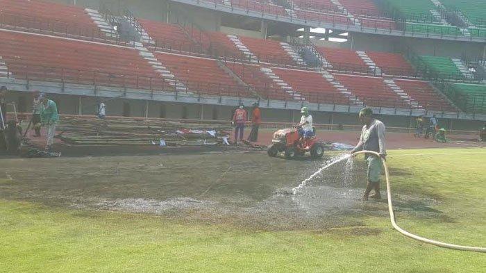 Fasilitas Stadion Gelora Bung Tomo Rusak, Pemkot Surabaya Lakukan Pembenahan