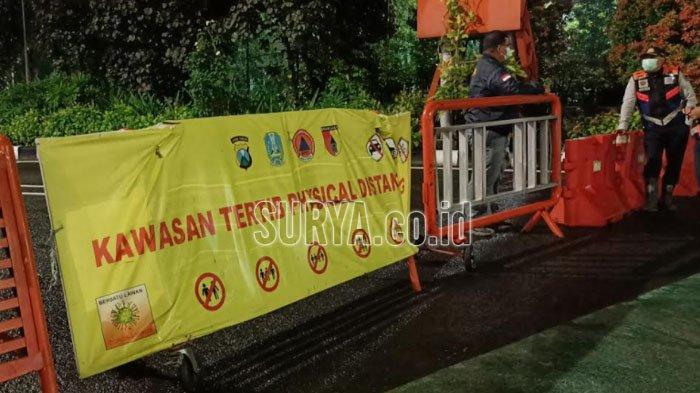 Penutupan Dua Jalan Utama di Kota Surabaya, Whisnu Sakti Buana : Efektif Kurangi Kerumunan