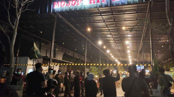 Kafe Mojopahit Kopi di Kota Mojokerto Disegel akibat Melanggar Prokes dan Diduga Belum Miliki Izin