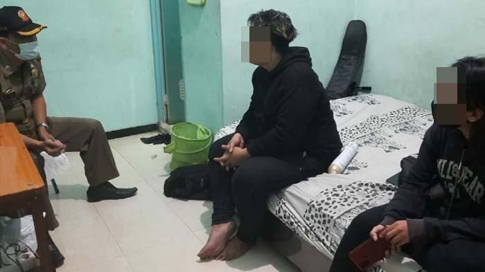 Pasangan Bukan Suami Istri di Kota Mojokerto Terjaring Razia Tempat Kos, Tepergok Berduaan di Kamar