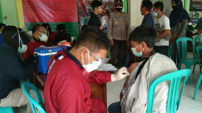 Polres Nganjuk Gencarkan Program Vaksinasi Covid-19 Melalui Gerai Presisi