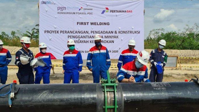 PGN Komitmen Selesaikan Proyek Pipa Minyak Rokan untuk Dorong Efisiensi PSN dan Holding Migas