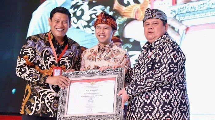 Pemkot Kediri Terima Penghargaan SAKIP Kemen-PAN RB, Tahun ini Berpredikat BB dengan Nilai Segini