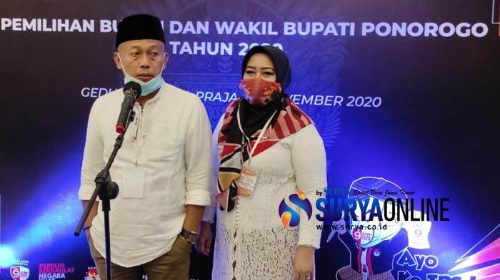 Sugiri Sancoko-Lisdyarita Pimpin Ponorogo Cuma 3 Tahun, KPU Sebut Gaji Pokok Tetap 5 Tahun