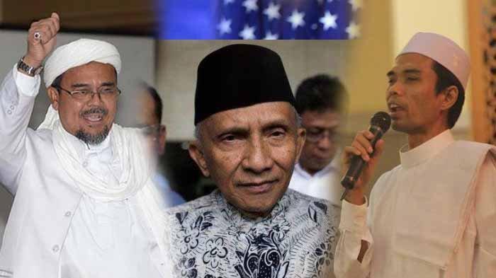 Amien Rais, Ustadz Abdul Somad dan Rizieq Shihab Diajak Gabung Partai Masyumi, Baru Dideklarasikan