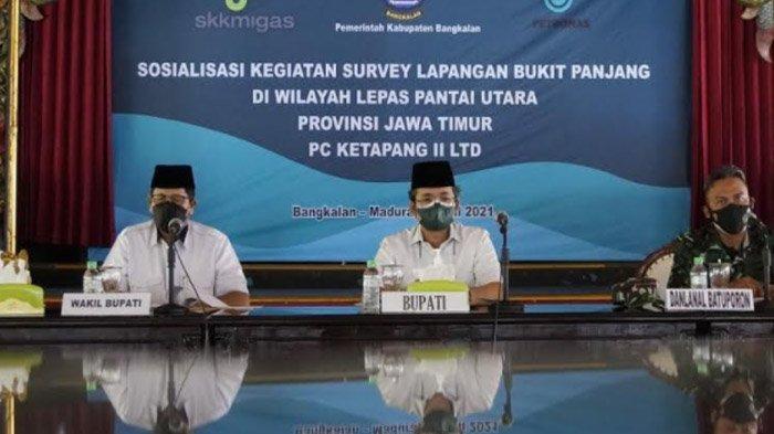Pipa Migas PT Petronas Lewati Bangkalan, Bupati Minta  Alat Tangkap Nelayan Pantura Tidak Diusik