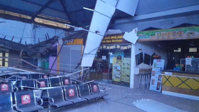 PT KAI Minta Maaf atas Ambruknya Atap Ruang Tunggu Stasiun Pasar Turi Surabaya, Tak Ada Korban Jiwa