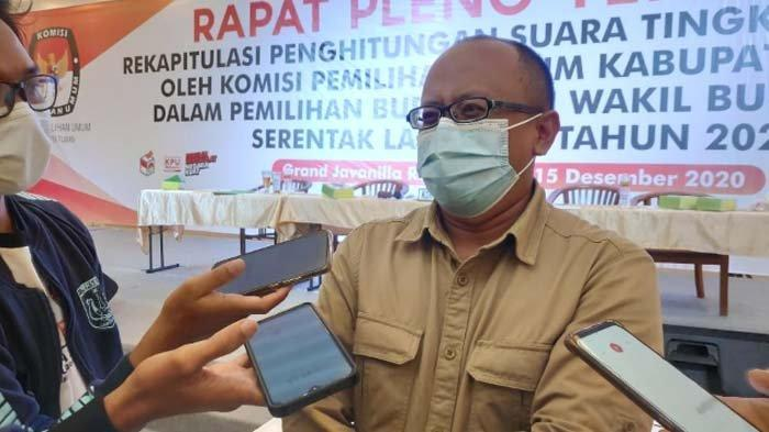 KPU Tegaskan hingga kini Belum Ada Gugatan dari Tim Paslon terkait Hasil Pilkada Tuban 2020