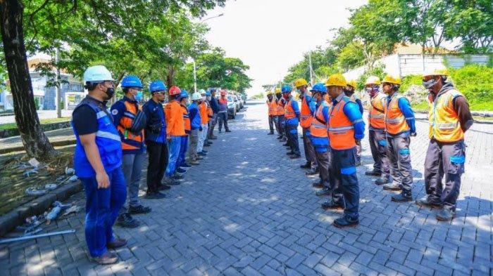 PLN Siagakan Ratusan Personel untuk Potong dan Rabas Pohon Serentak di Akhir Pekan