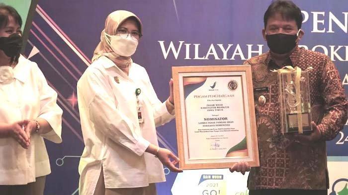 Pemkab Nganjuk Dapat 2 Penghargaan dari BBPOM: Pengawasan Makanan dan Obat serta Pasar Pangan Aman