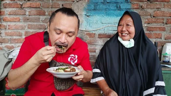Berkunjung ke Surabaya, Giring Nidji Bertemu Pegiat UMKM dari Kalangan Difabel