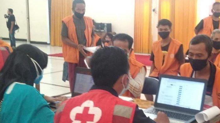PMI Jember Habiskan 4.000 Dosis Sinovac Selama Sepekan, Meski Belum Menyentuh Semua Penghuni Lapas