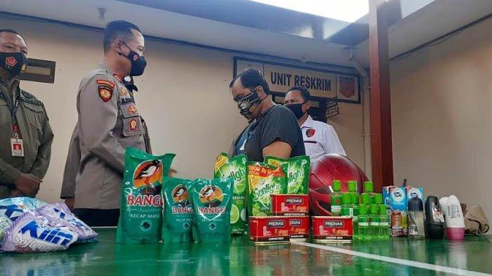 Oknum PNS Dindik Kota Madiun Ditangkap Warga, Curi Minyak Kayu Putih dan Sabun Cuci Piring