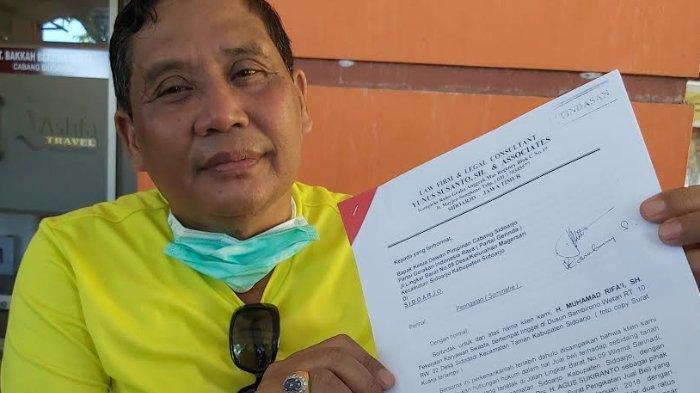 Rifai Kirim Somasi ke DPC Gerindra Sidoarjo, Minta Kantor Segera Dikosongkan