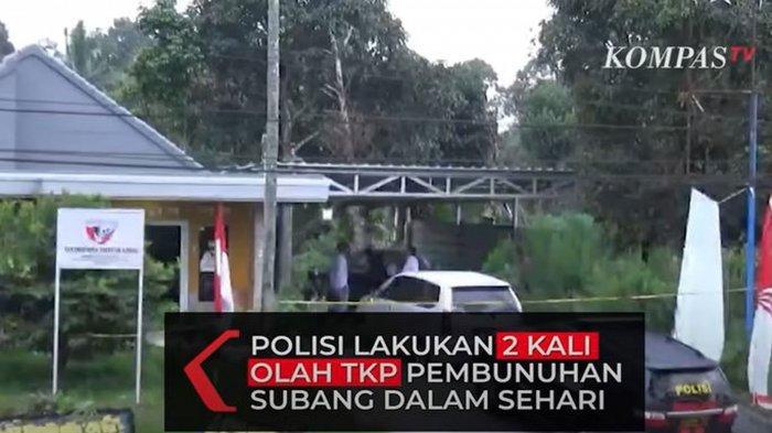 Polisi 2 Kali Olah TKP dalam Sehari untuk Ungkap Pembunuh Ibu dan Anak di Subang, Warga Mulai Takut