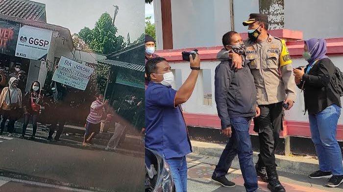 Begini Nasib Pria Pembentang Poster Saat Kunjungan Presiden Joko Widodo di Blitar