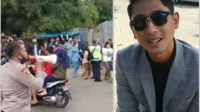 Video detik-detik polisi bubarkan penonton Ikatan Cinta di lokasi syuting. Arya Saloka beri pesan tegas.