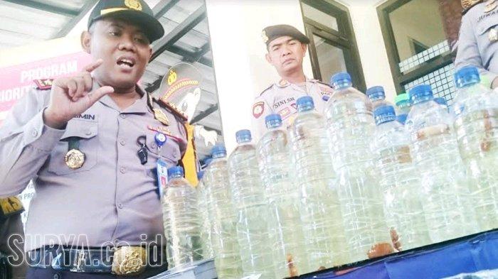 Mau Dipakai Pesta Tahun Baru, Ratusan Liter Miras Disita Polisi Magetan