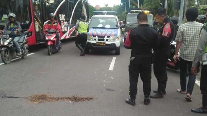 Polisi Buru Jambret saat Jalanan Surabaya Lengang akibat Corona, Korbannya Seorang Wanita Meninggal