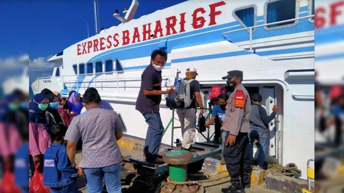 Cegah Penyebaran Covid-19, Pemantauan Protokol Kesehatan di Pelabuhan Gresik Diperketat