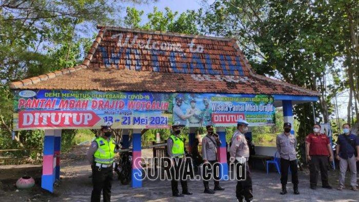 Antisipasi Penyebaran Covid-19, Kawasan Pantai Selatan Kabupaten Lumajang Dijaga Ketat