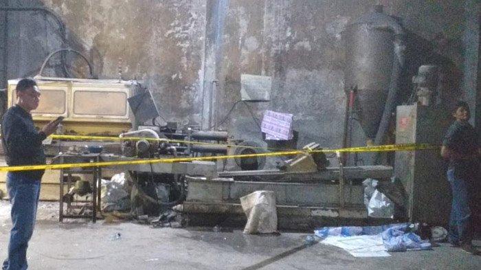 Bersihkan Mesin Daur Ulang, Pria Bangkalan Madura Tewas Tergilas, Korban sempat Teriak Ya Allah. . .