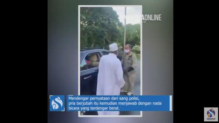 Polisi Ungkap 3 Kekhilafan Habib Umar Assegaf Bangil yang Ngamuk di Pos PSBB Surabaya
