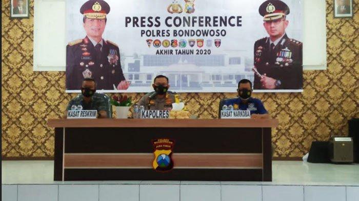 Dua Kasus ini Meningkat di Wilayah Hukum Polres Bondowoso sepanjang 2020