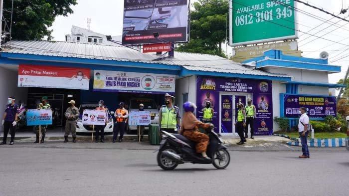 Cegah Penyebaran Covid-19 di Jalan Raya, Polres Gresik Resmikan Pos Lantas Tangguh Semeru