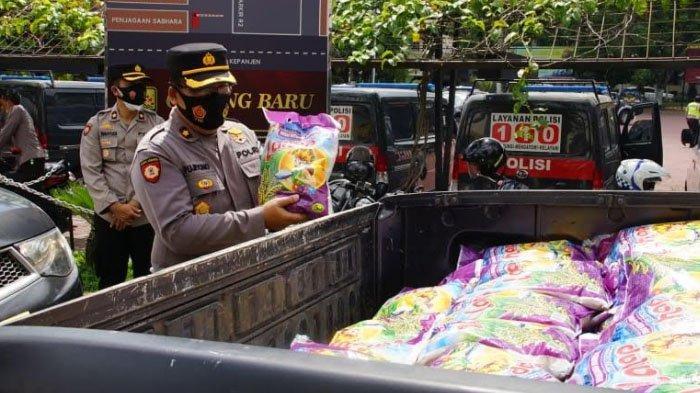 Di Kabupaten Malang, 52 Ton Beras Disebar untuk Warga Terdampak PPKM Darurat