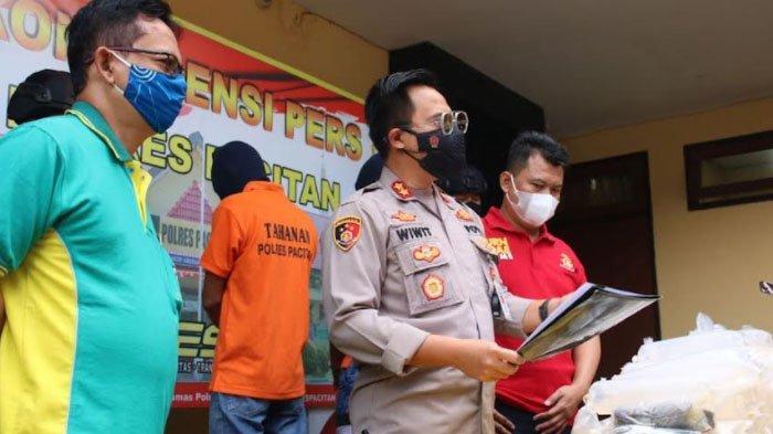 Polisi Pacitan Tangkap Penyeludup Benih Lobster Senilai Rp 200 Juta, Hendak Dikirim ke Bandung