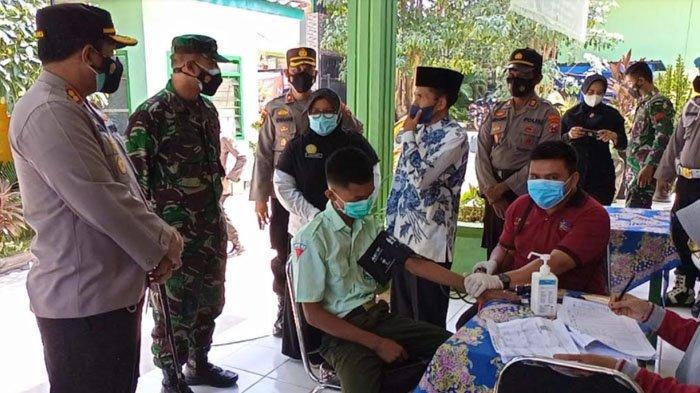 Jelang Pembelajaran Tatap Muka di Kabupaten Pamekasan, Kebut Vaksinasi Massal Khusus Siswa