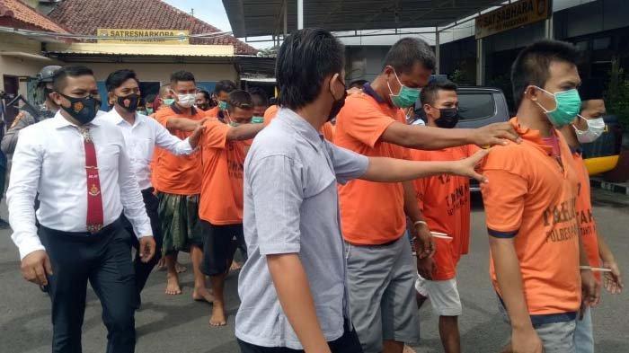28 Tersangka Ditahan di Polres Pamekasan terkait Berbagai Kasus Kejahatan, Dua di Antaranya Wanita