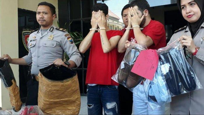 2 Warga Aljazair yang Curi Pakaian di TP, Melapisi Tasnya  dengan Aluminium Foil, ini Tujuannya
