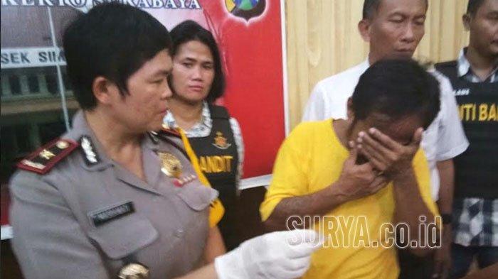 Kakek 3 Cucu di Surabaya Nyabu, Pengakuannya Mengejutkan Polisi