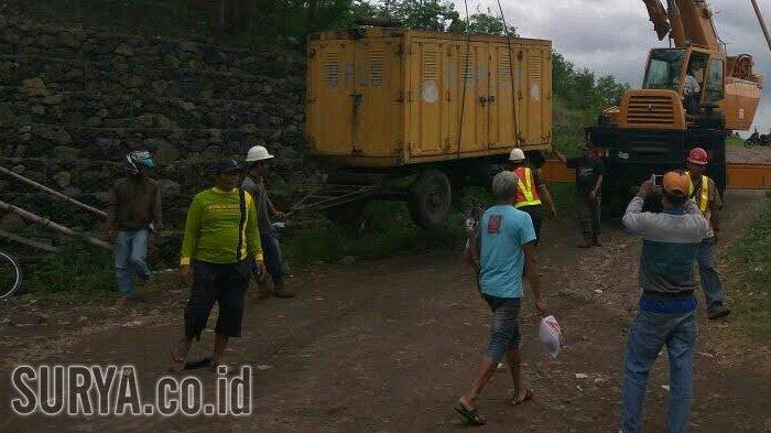 Satu Pompa Air Rusak, Penyedotan Air di Jalan Raya Porong Kembali Tersendat