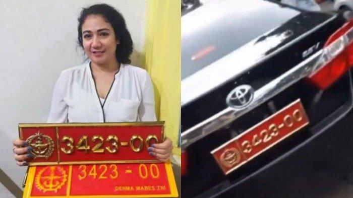 Nasib Pooja, Wanita Pamer Mobil Pelat Dinas TNI Bodong Setelah Ditangkap POM, Bisa Dijerat Pidana?