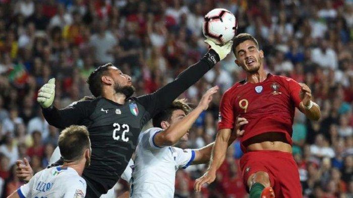 Hasil Lengkap UEFA Nations League - Italia Menyerah Atas Portugal, 11 September 2018 Dini Hari