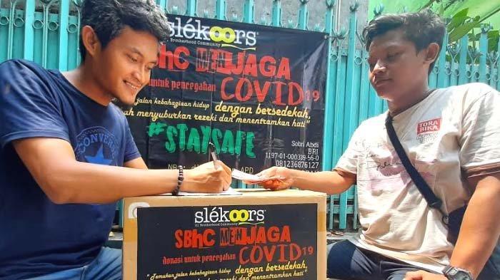 Peduli Covid 19, Komunitas di Surabaya Galang Donasi, mulai APD hingga Sembako