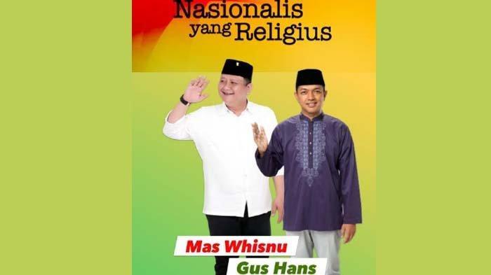 PenjelasanGus Hans terkait Poster Dirinya Bersanding dengan Whisnu seusai Bertemu Sekjen PDIP